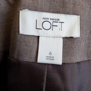 LOFT Jackets & Coats - Ann Taylor LOFT Brown Mini Blazer Size 6